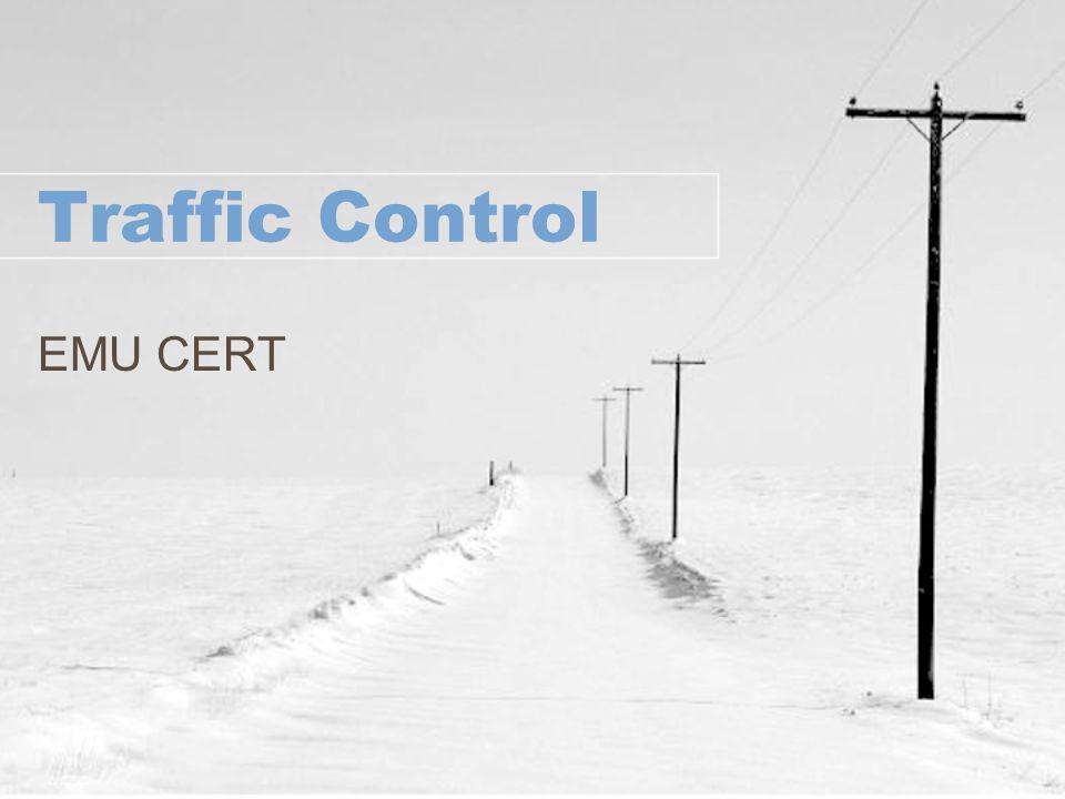 Traffic Control EMU CERT