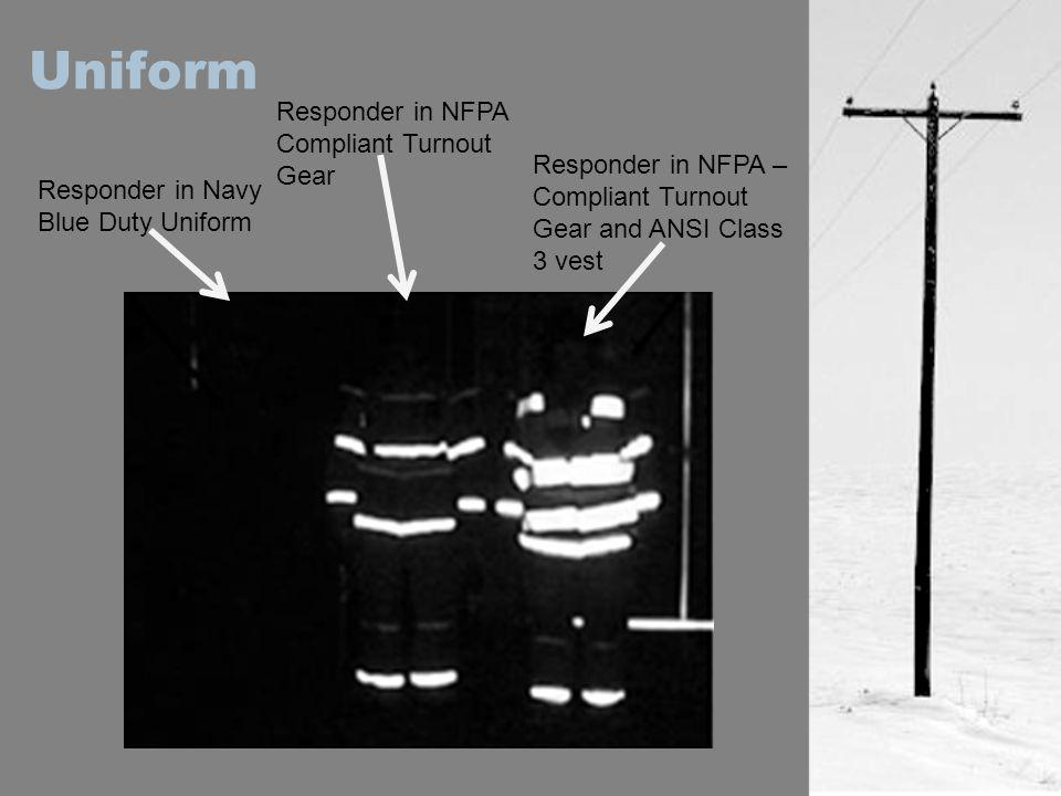 Uniform Responder in NFPA Compliant Turnout Gear