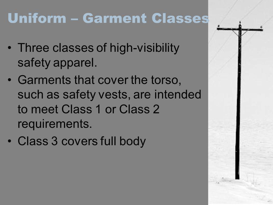 Uniform – Garment Classes
