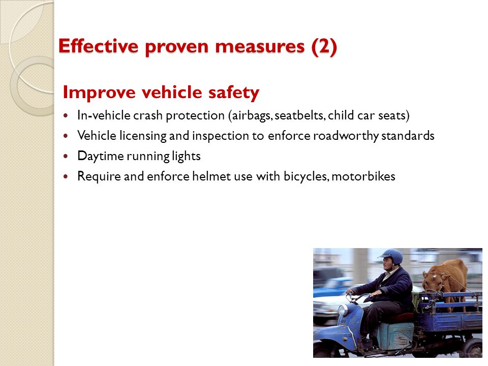 Effective proven measures (2)