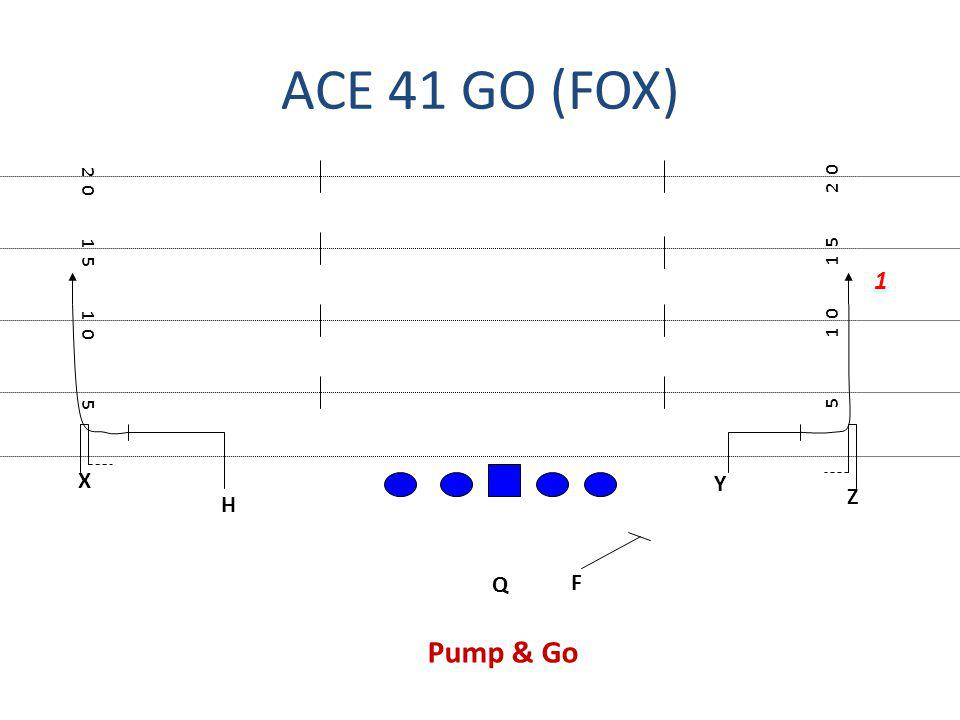 ACE 41 GO (FOX) 2 0 2 0 1 5 1 5 1 1 0 1 0 5 5 X Y Z H Q F Pump & Go