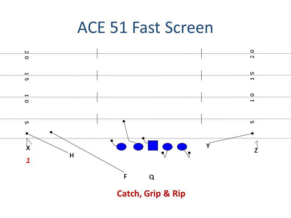 ACE 51 Fast Screen Catch, Grip & Rip 1 Y X Z H F Q 2 0 2 0 1 5 1 5 1 0