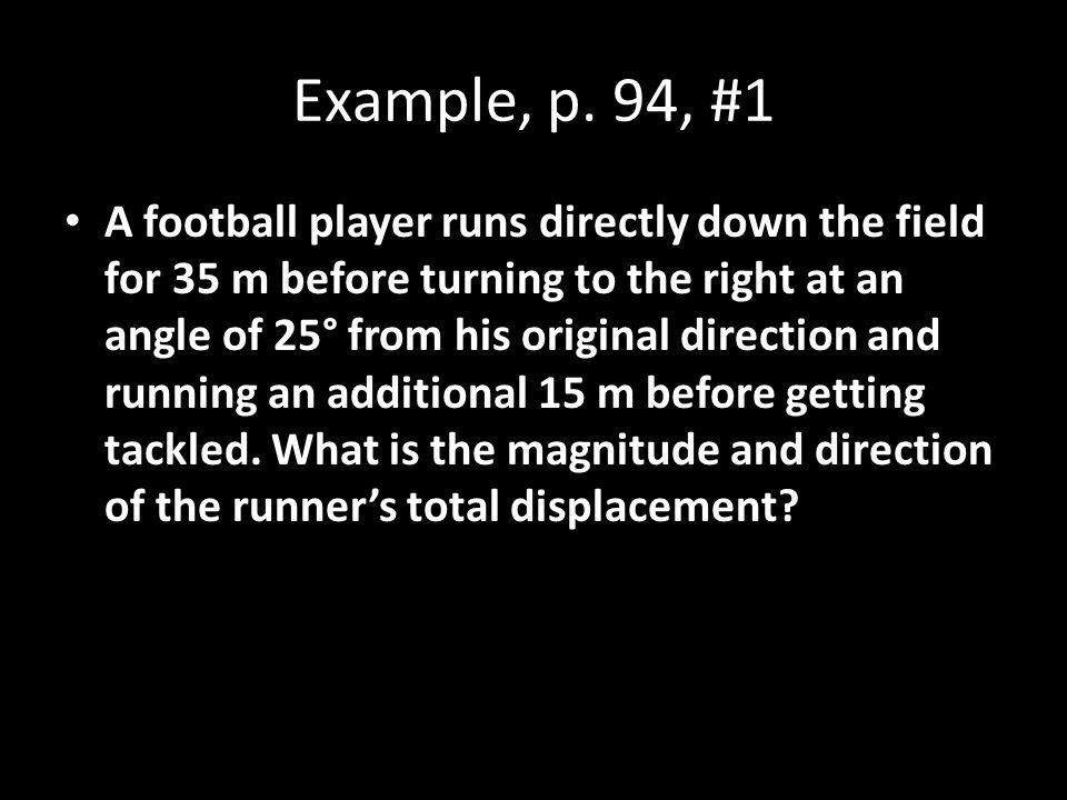 Example, p. 94, #1
