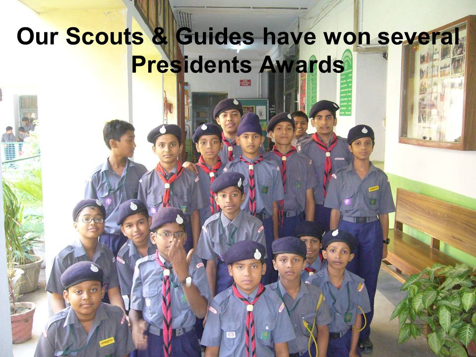 Our Scouts & Guides have won several Presidents Awards
