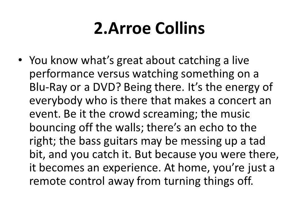 2.Arroe Collins