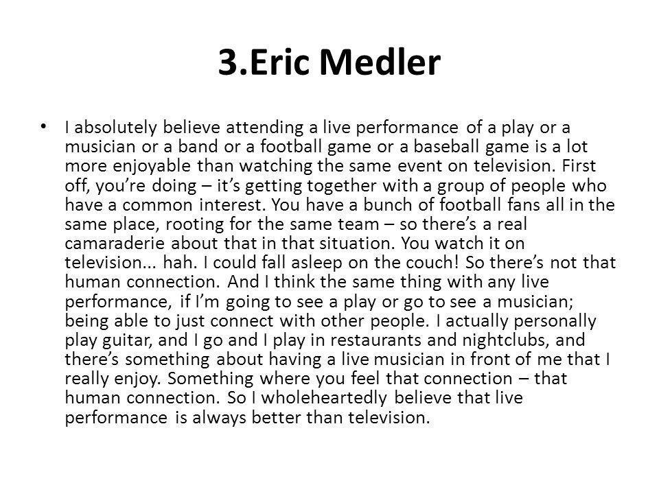 3.Eric Medler