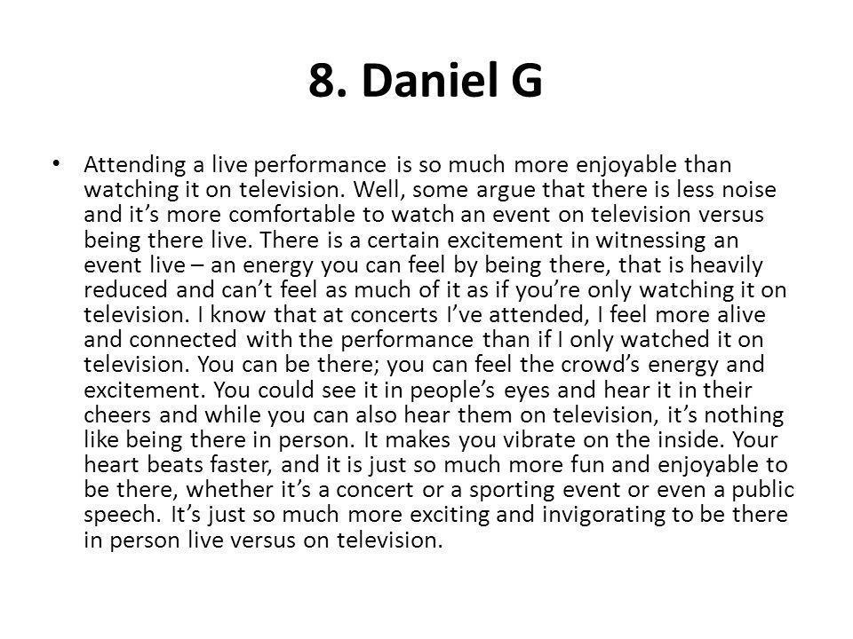 8. Daniel G