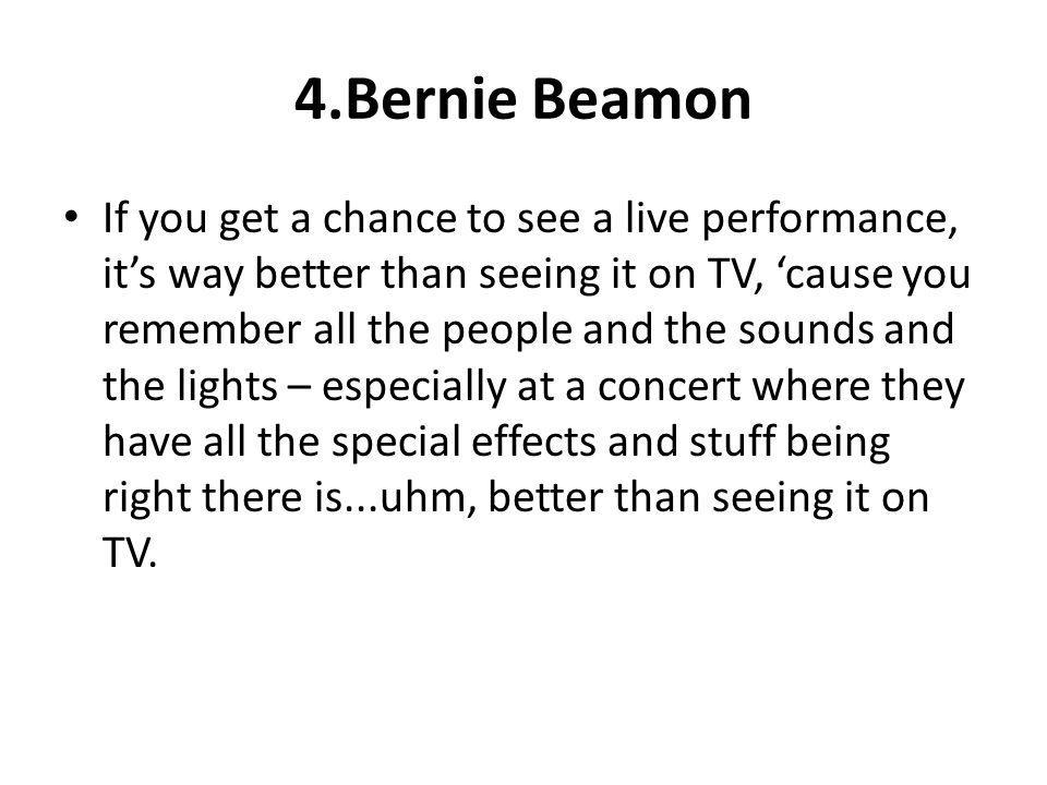 4.Bernie Beamon