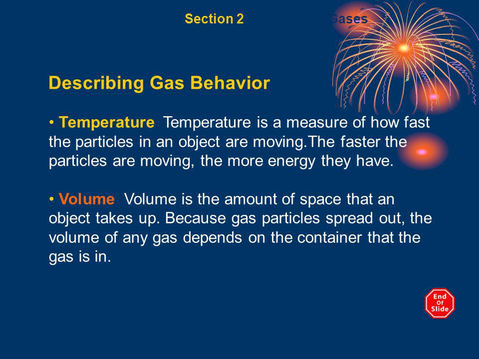 Describing Gas Behavior