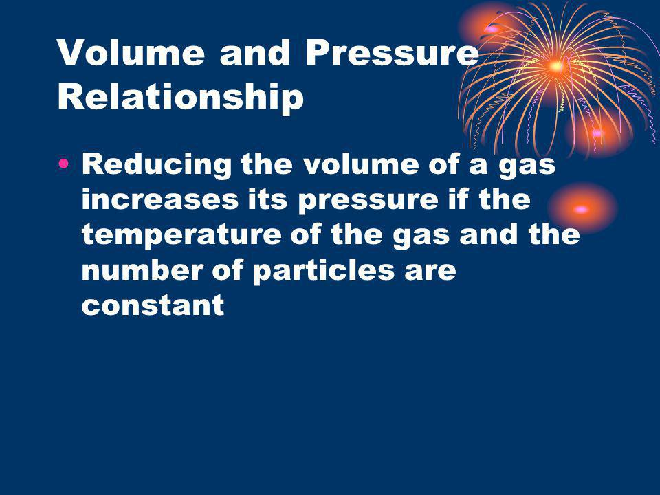 Volume and Pressure Relationship