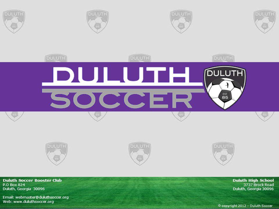 Duluth Soccer Booster Club Duluth High School