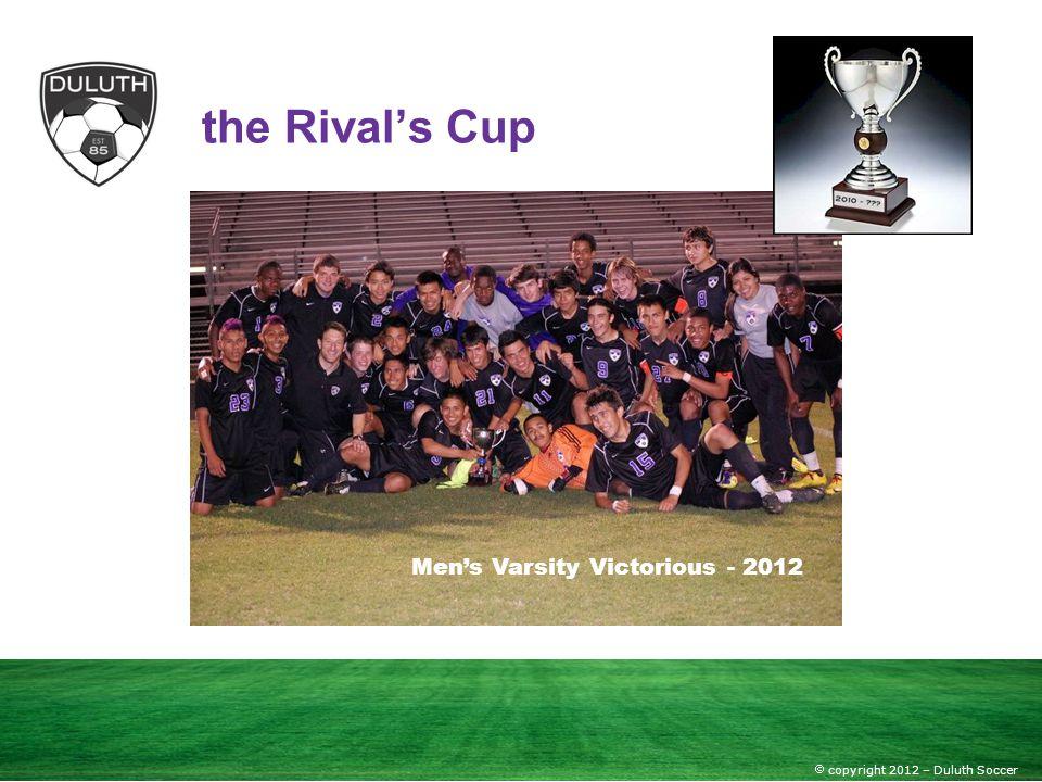 Men's Varsity Victorious - 2012