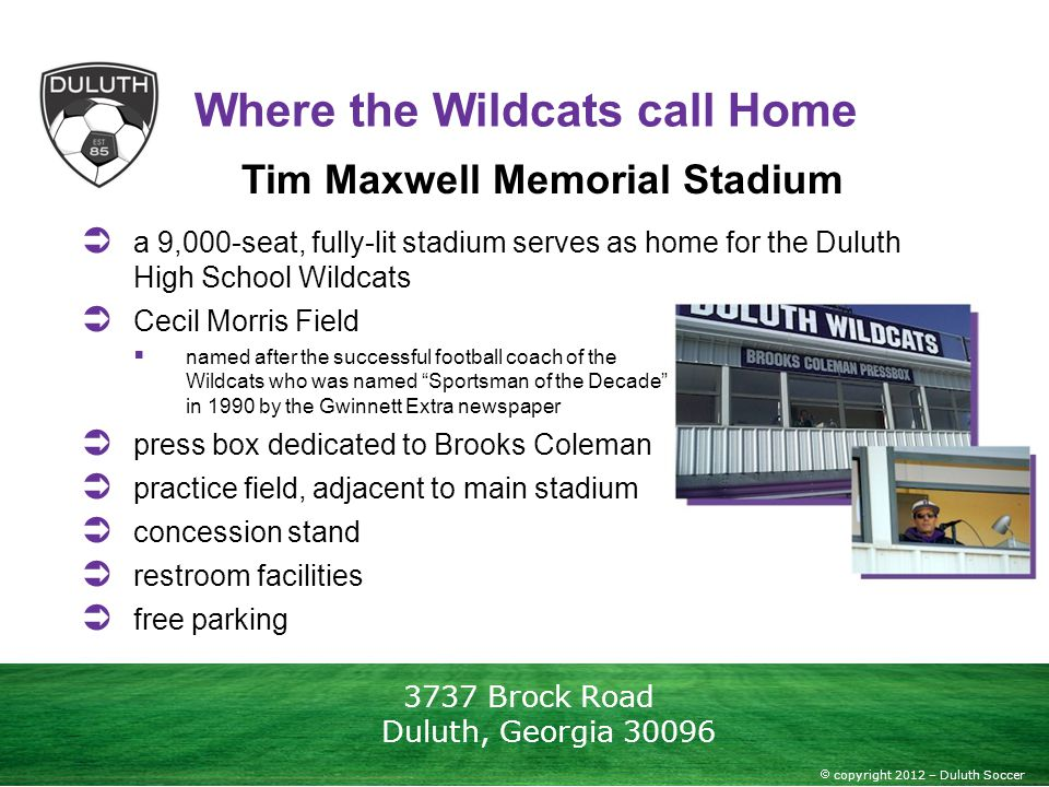 Where the Wildcats call Home