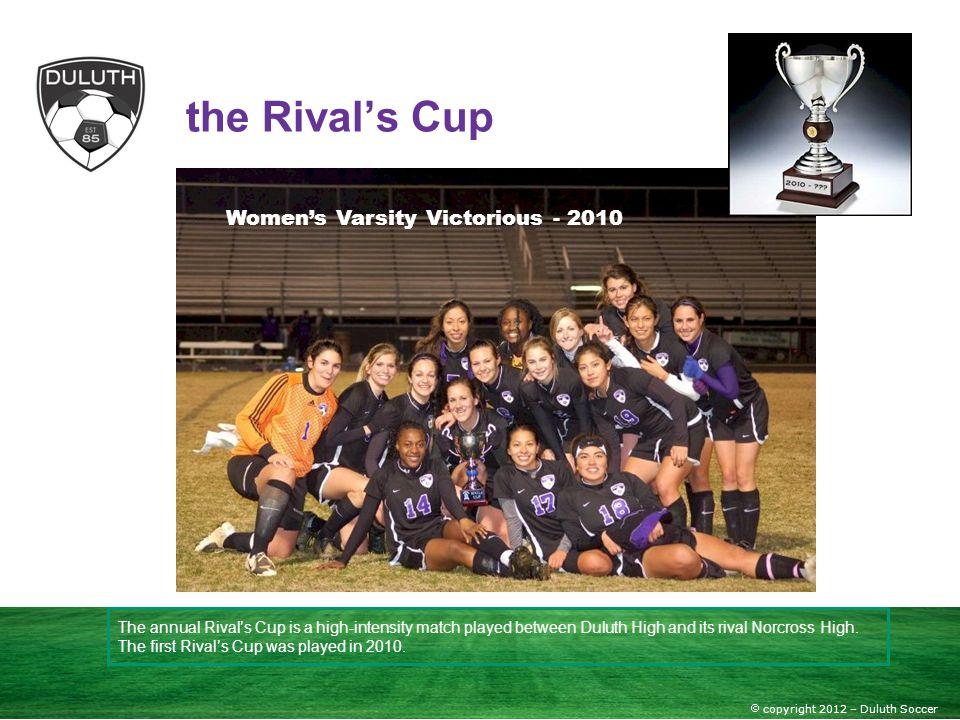 Women's Varsity Victorious - 2010