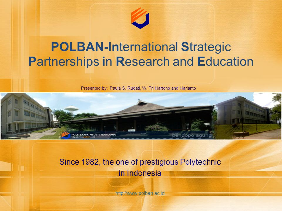 POLBAN-International Strategic Partnerships in Research and Education