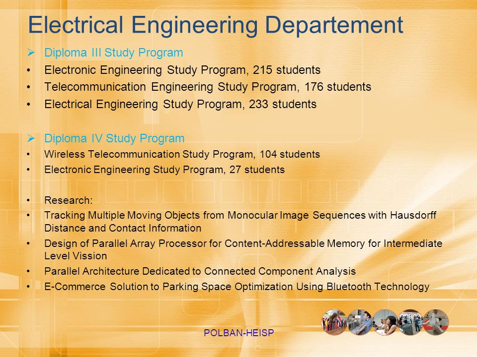 Electrical Engineering Departement