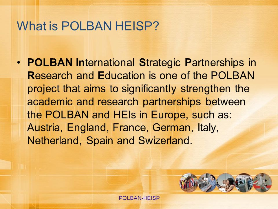 What is POLBAN HEISP