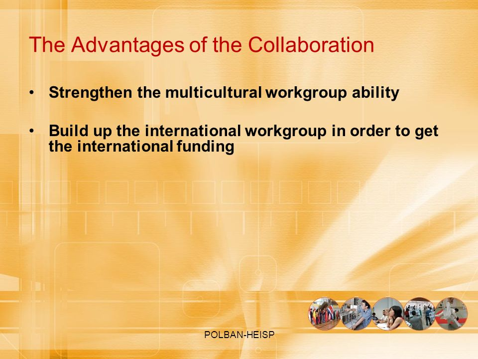 The Advantages of the Collaboration