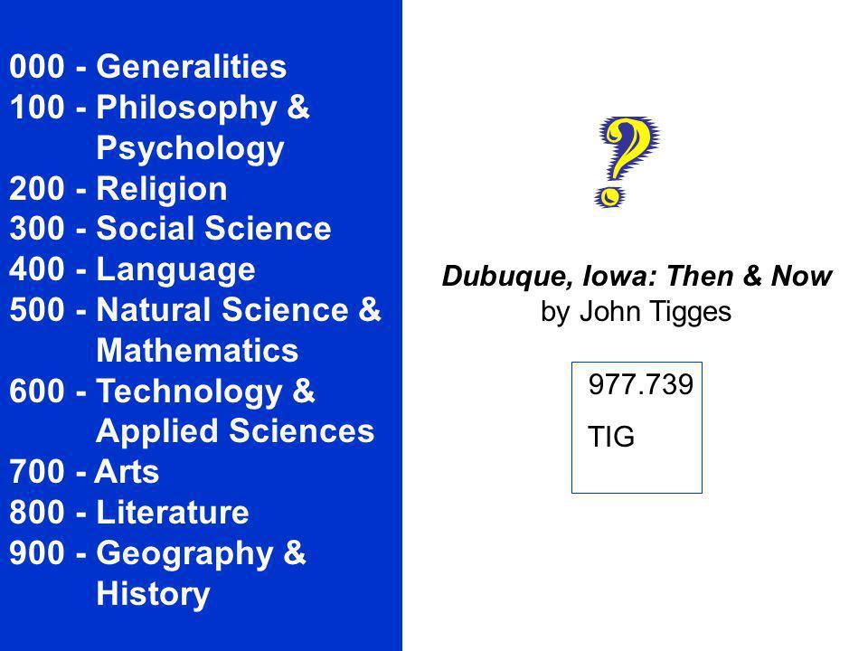 Dubuque, Iowa: Then & Now