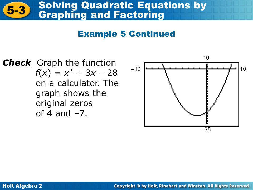 Check Graph the function