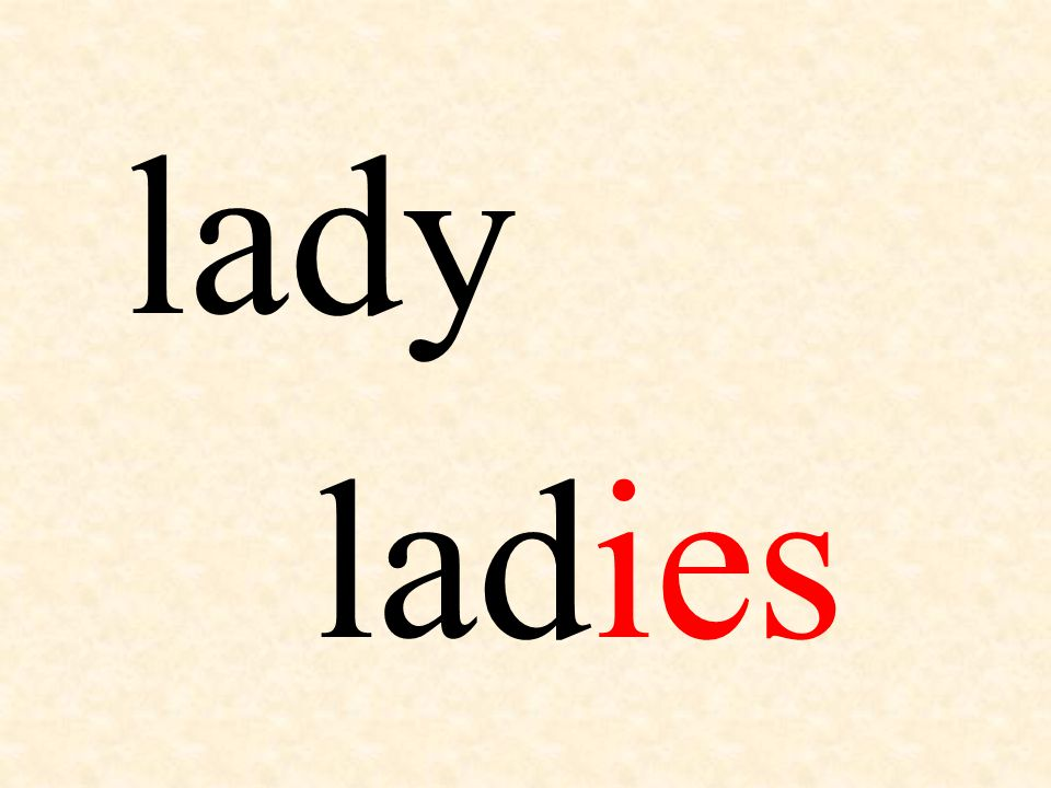 lady ladies