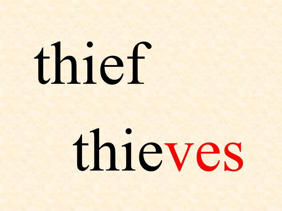 thief thieves