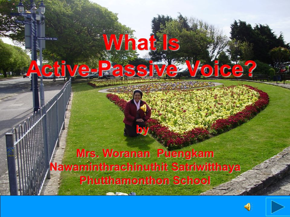 What Is Active-Passive Voice