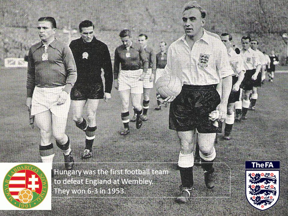 Hungary was the first football team to defeat England at Wembley.