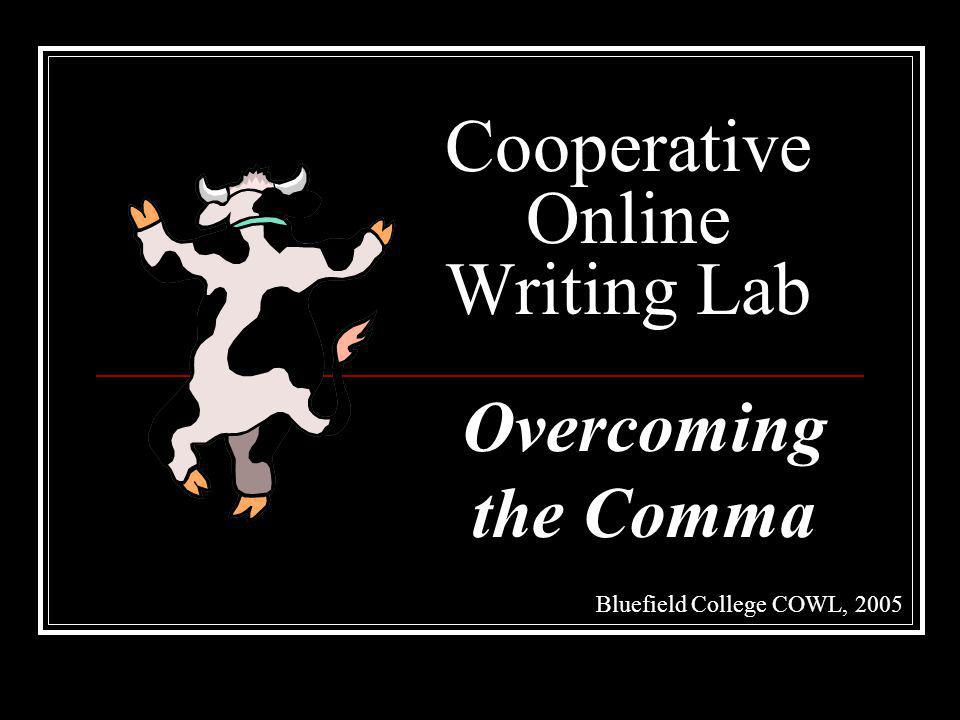Cooperative Online Writing Lab