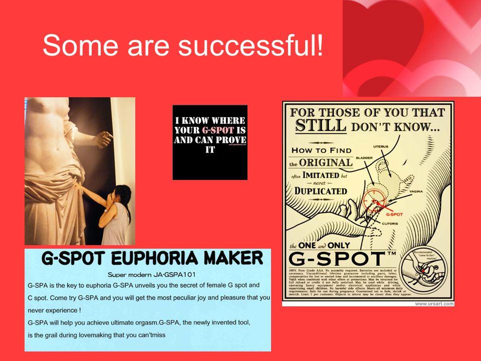 Some are successful!