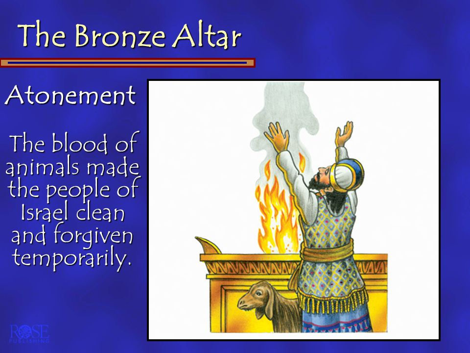 The Bronze Altar Atonement