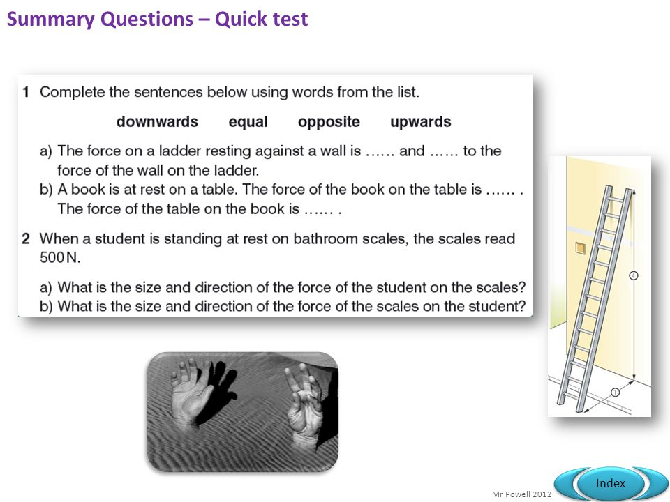Summary Questions – Quick test