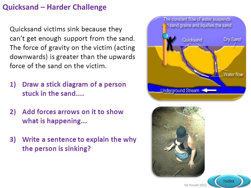 Quicksand – Harder Challenge
