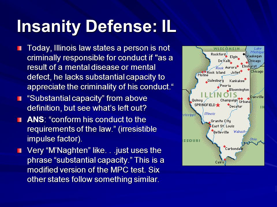 Insanity Defense: IL
