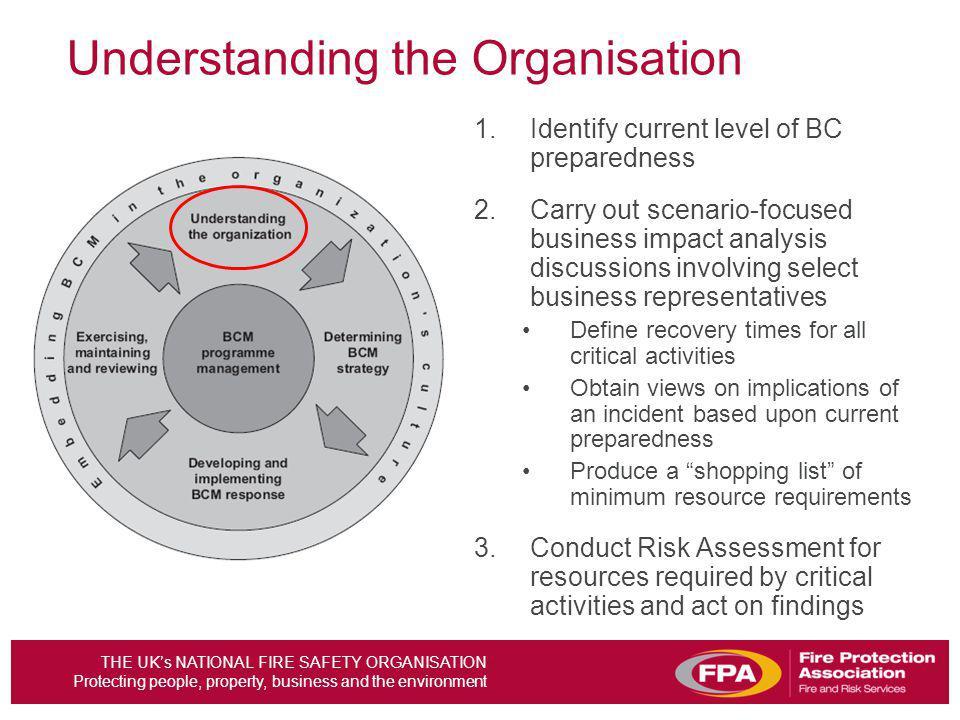Understanding the Organisation