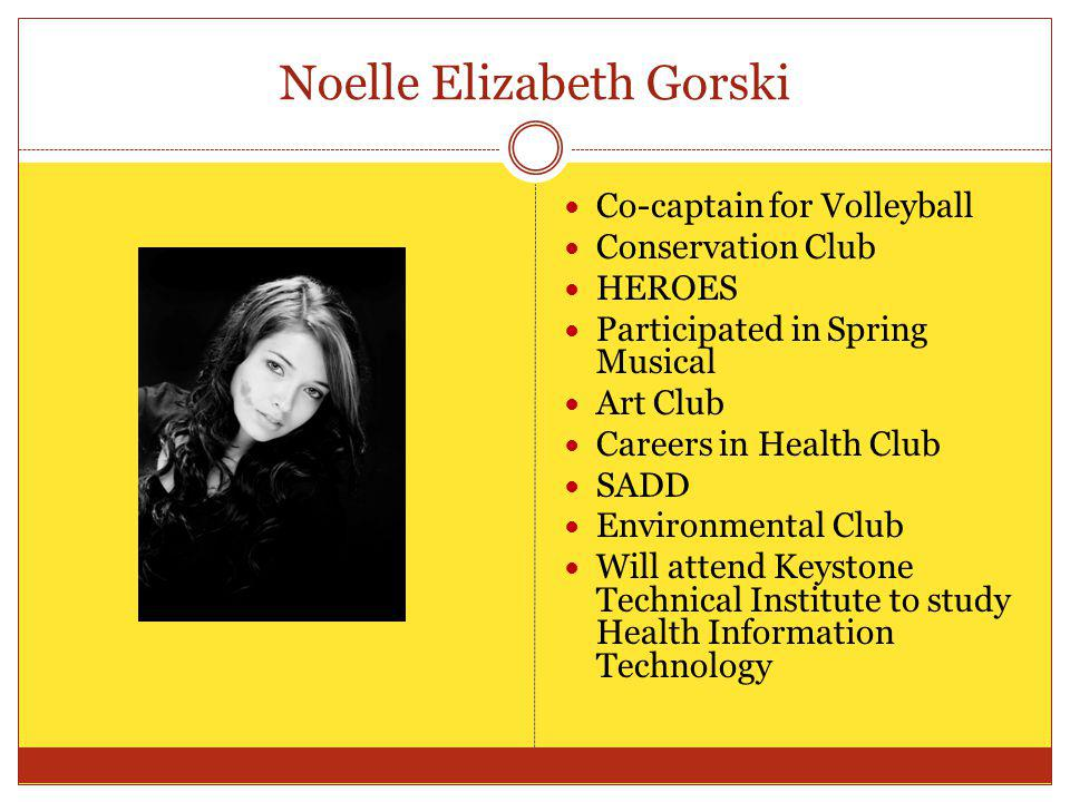 Noelle Elizabeth Gorski