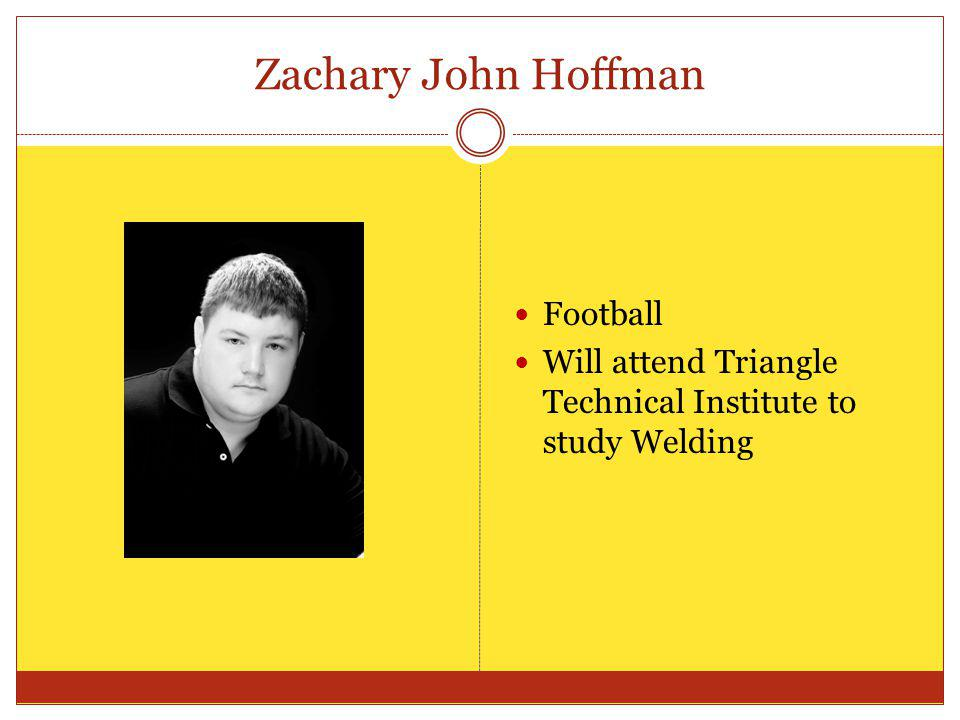 Zachary John Hoffman Football