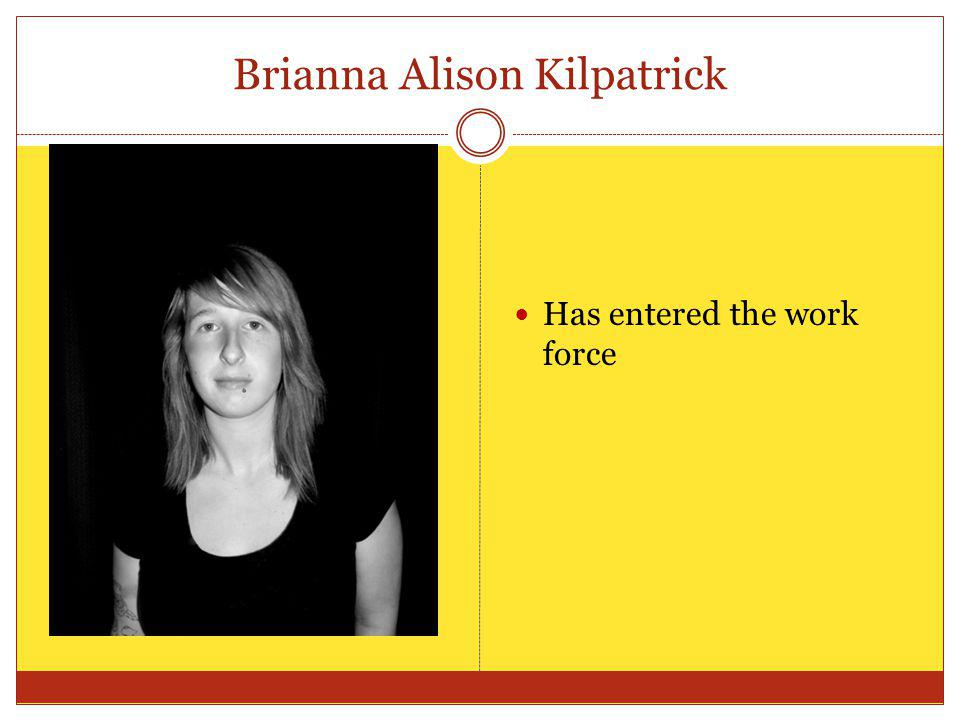 Brianna Alison Kilpatrick