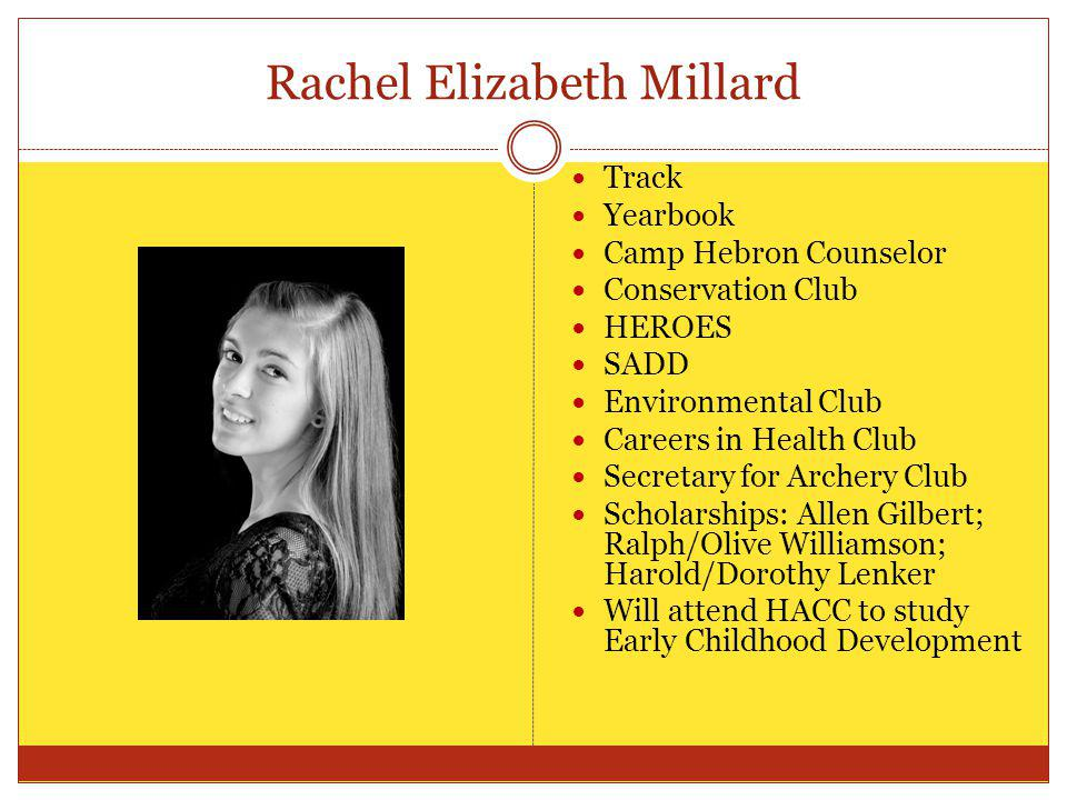 Rachel Elizabeth Millard