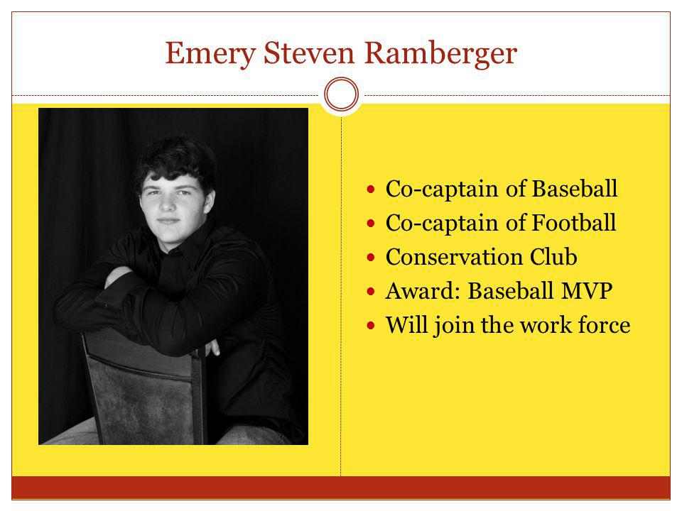 Emery Steven Ramberger