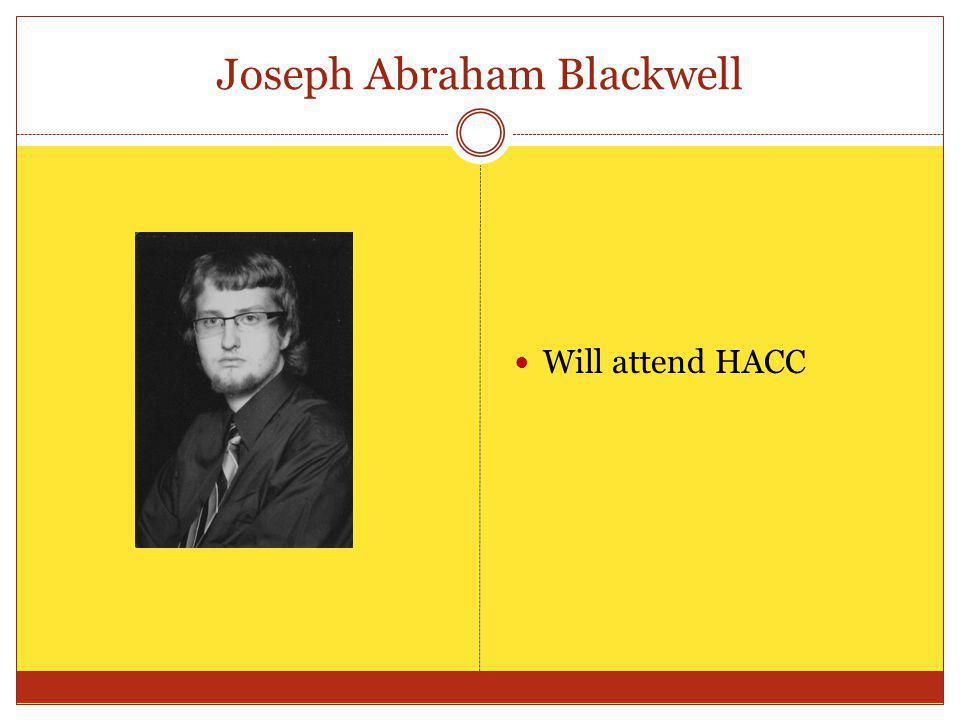 Joseph Abraham Blackwell