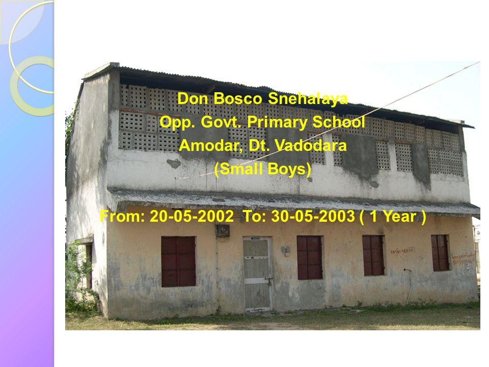 Opp. Govt. Primary School