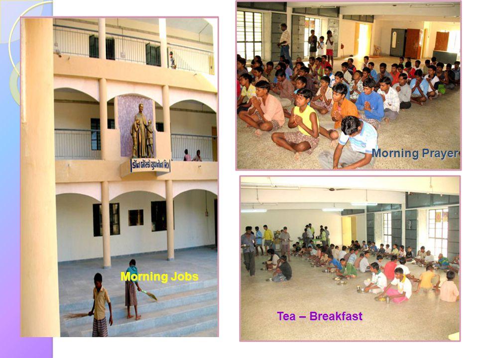 Morning Prayer Morning Jobs Tea – Breakfast
