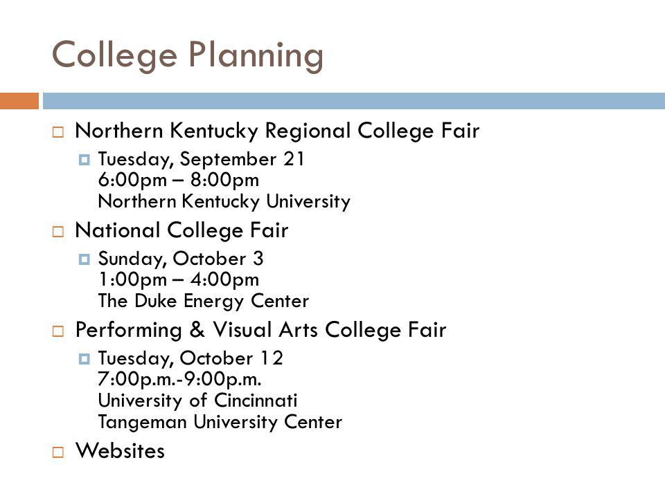 College Planning Northern Kentucky Regional College Fair