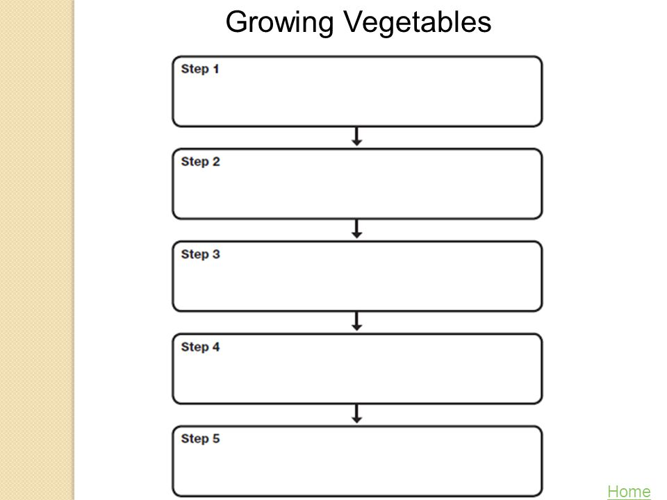 Growing Vegetables Home