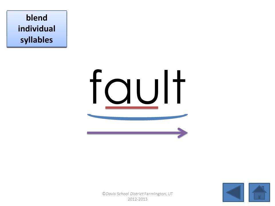 fault click per vowel identify vowel patterns