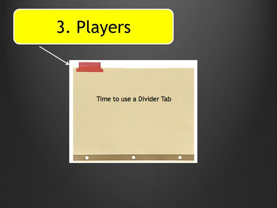3. Players