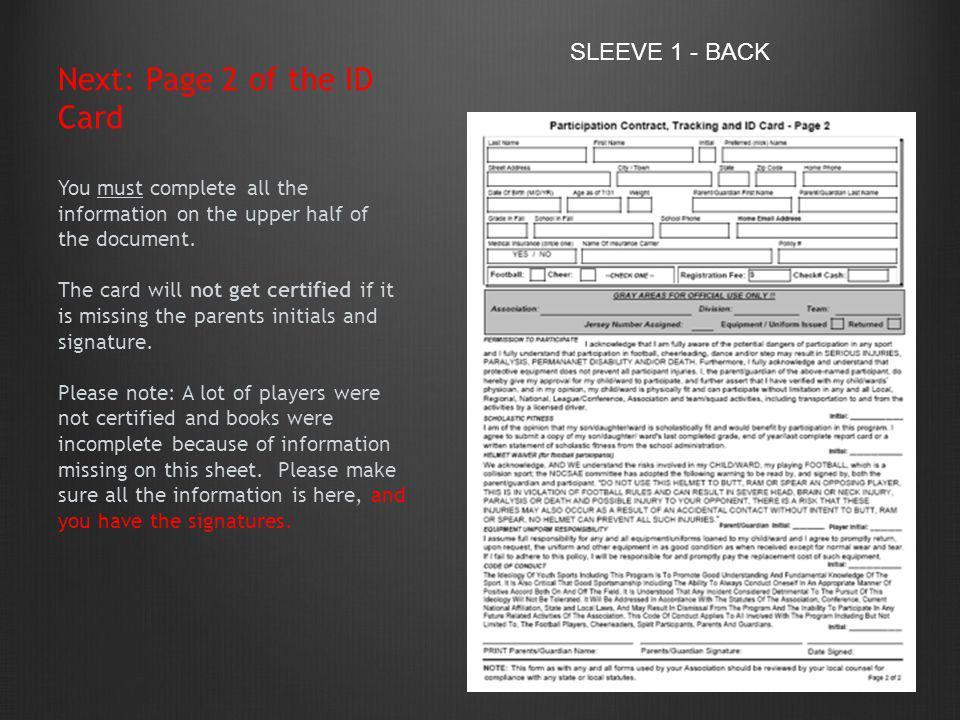 SLEEVE 1 - BACK