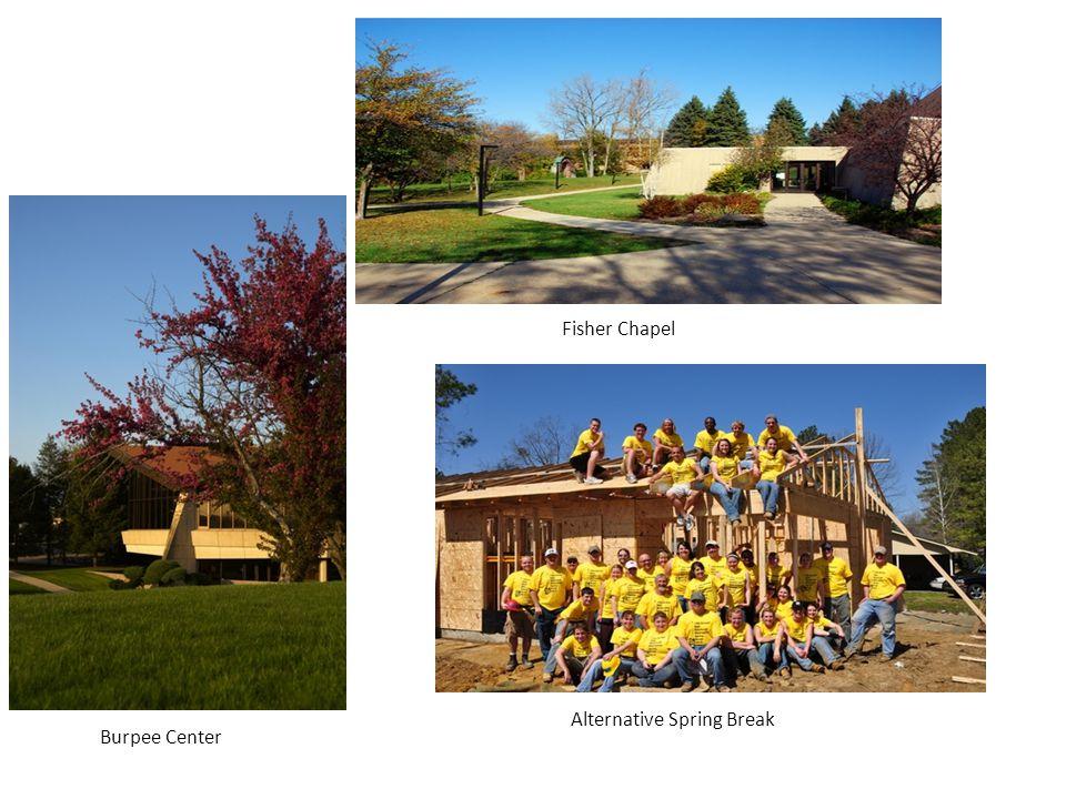 Fisher Chapel Alternative Spring Break Burpee Center