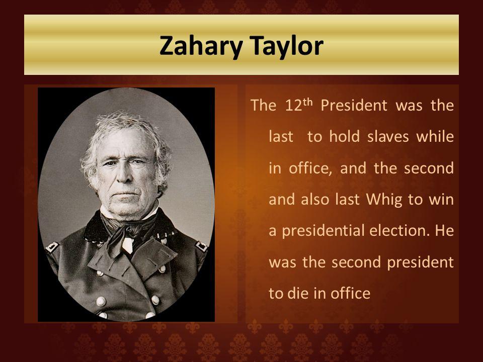 Zahary Taylor